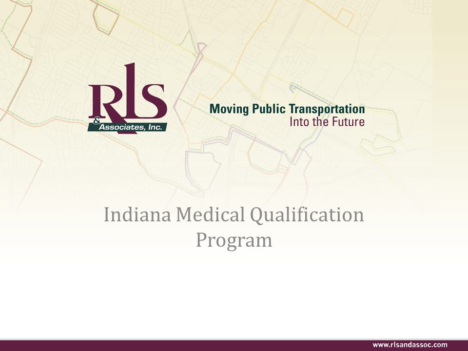 Indiana Medical Qualification Program