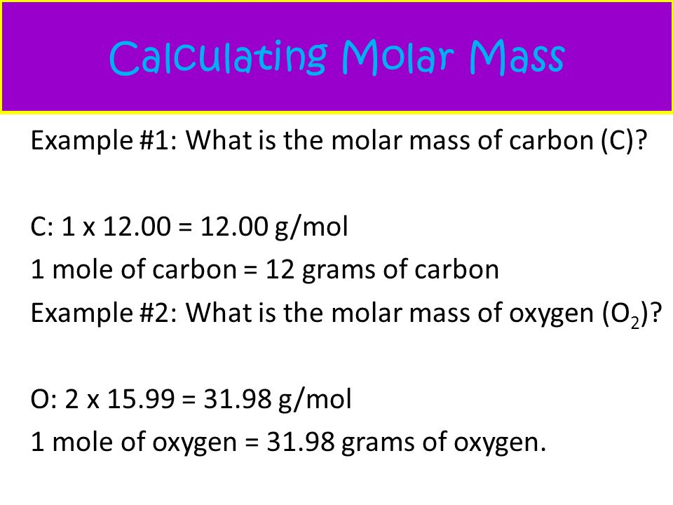 Warm Up Calculate Molar Mass K2O PCl5 LiF Ppt Video Online Download