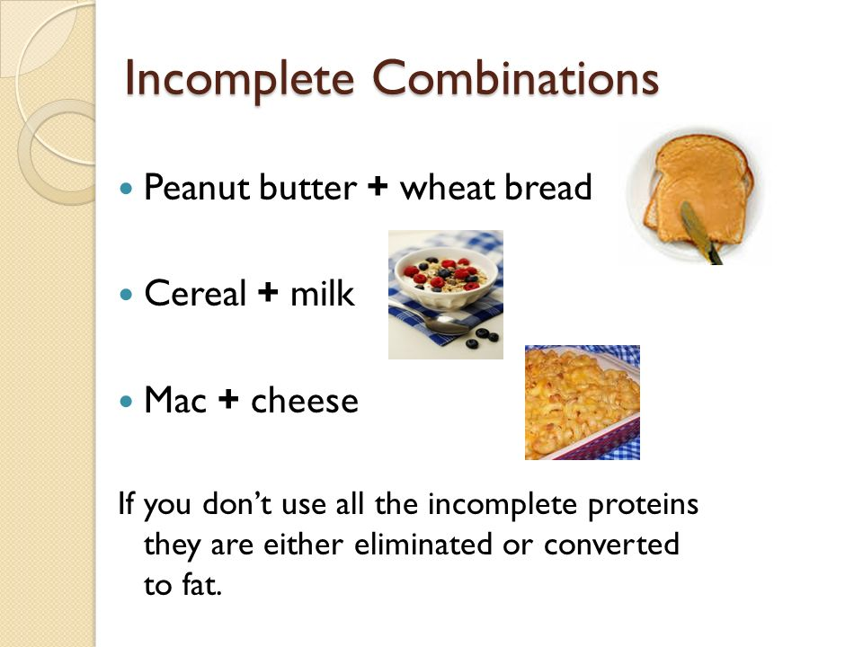 Incomplete Combinations
