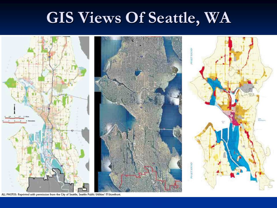 GIS Views Of Seattle, WA