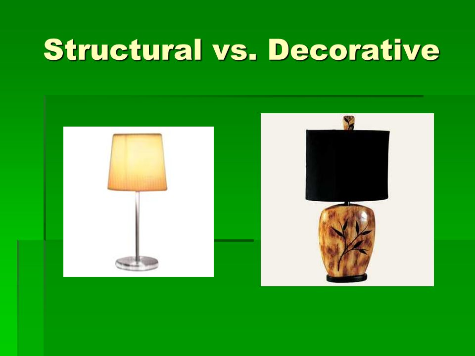 Structural And Decorative Design Ppt Video Online Download