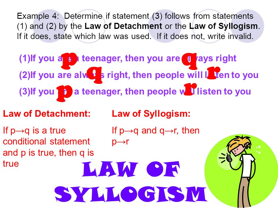 Law Of Detachment And Syllogism Worksheet Livinghealthybulletin