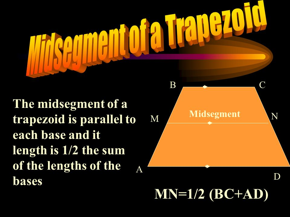 Midsegment of a Trapezoid