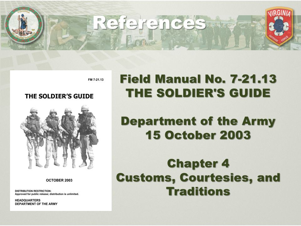 history of military customs and courtesies