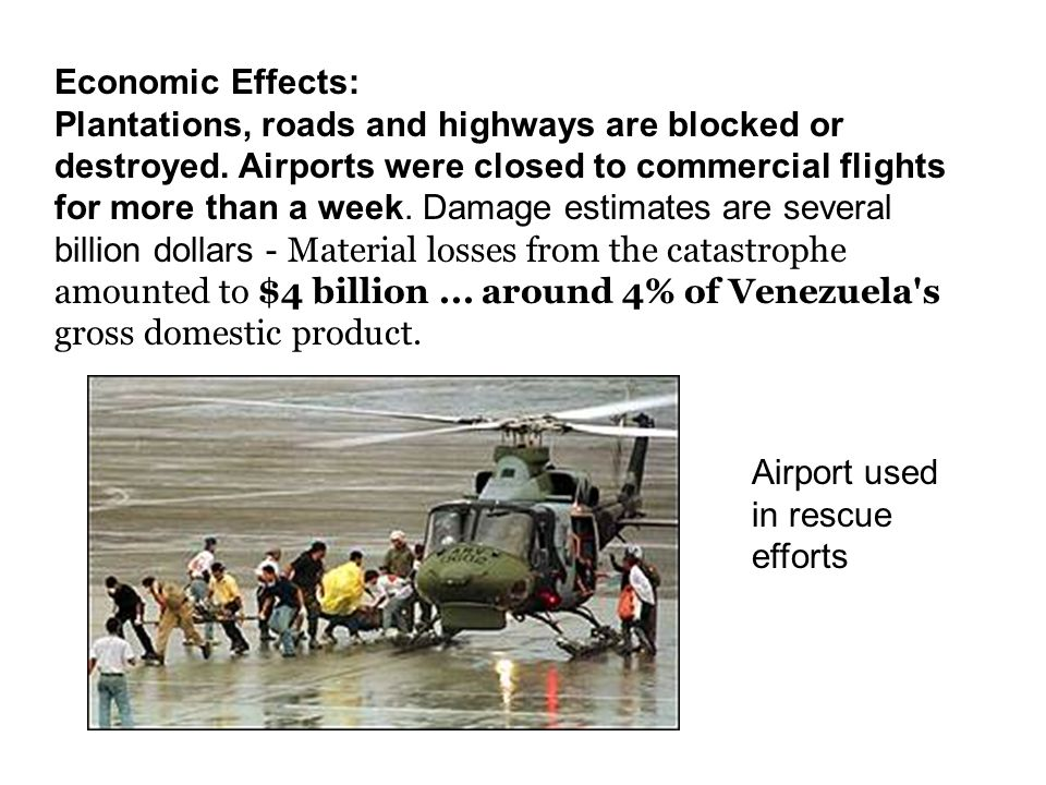 Economic Effects: