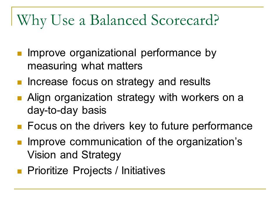 The Balanced Scorecard Approach - ppt video online download