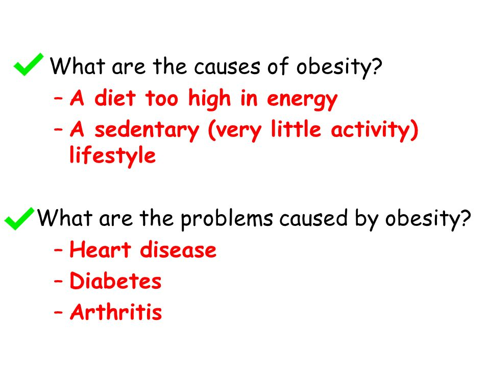 What are the causes of obesity