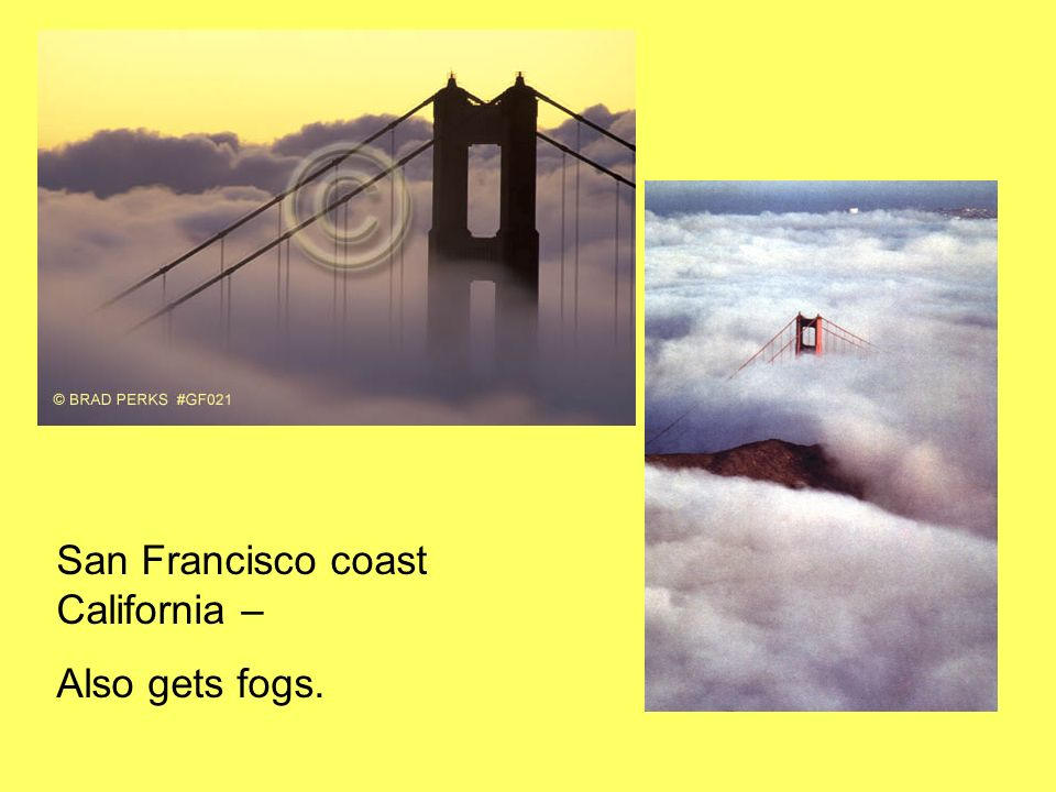 San Francisco coast California –