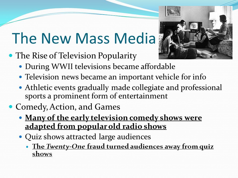 Popular Culture of the 1950s - ppt download