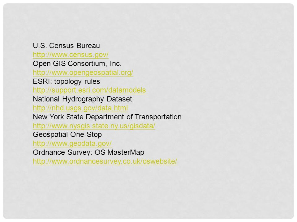 CHAPTER 3 VECTOR DATA MODEL  - ppt video online download