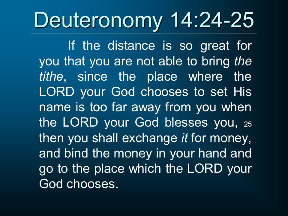 Kuvahaun tulos haulle Deuteronomy 14:24-25