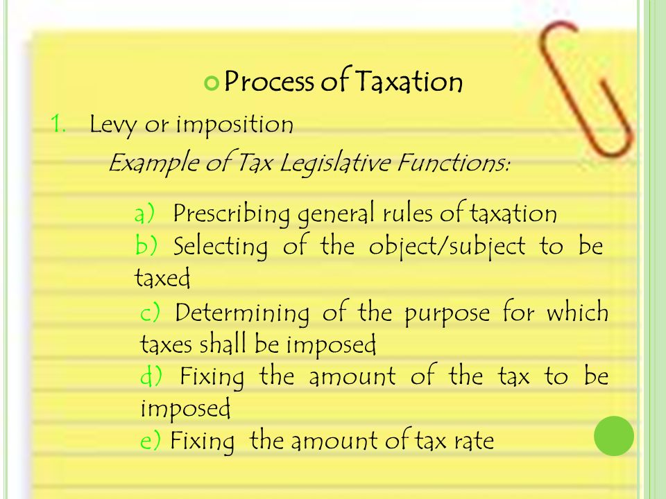administrative feasibility in taxation meaning