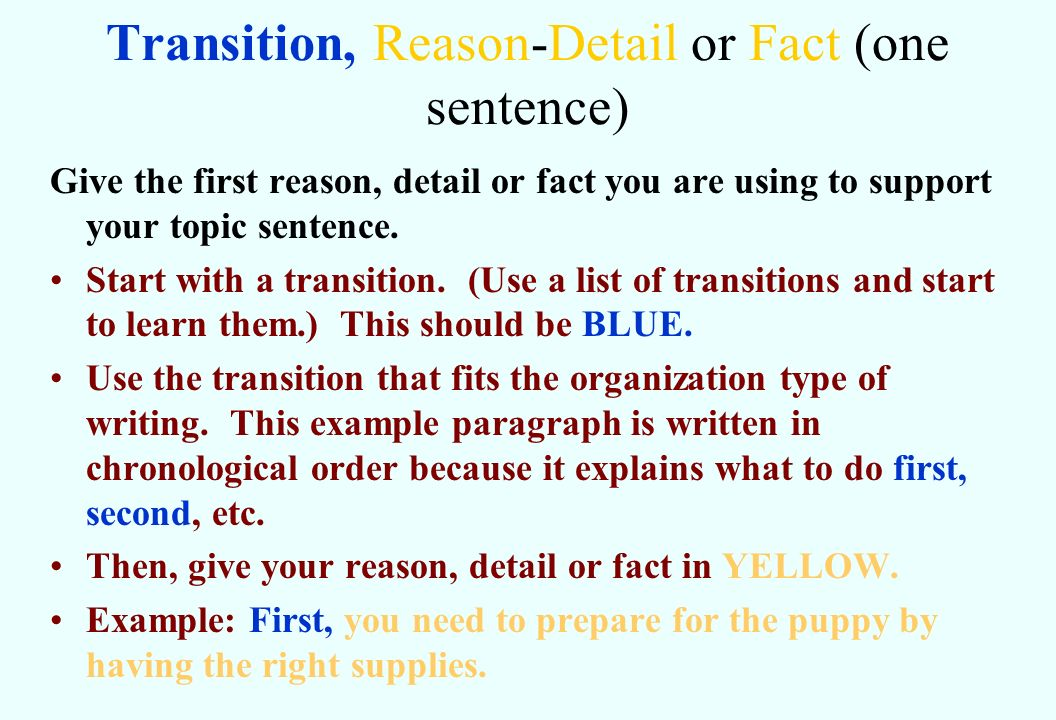 Writing a Color Coded \u201cPower Paragraph\u201d - ppt video online download