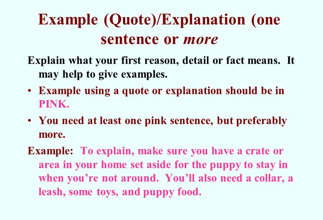Paragraph writing. Complex vs. Simple sentences complex sentence.