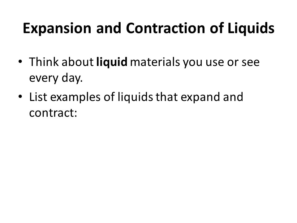 Living With Thermal Expansion And Contraction Ppt Video Online