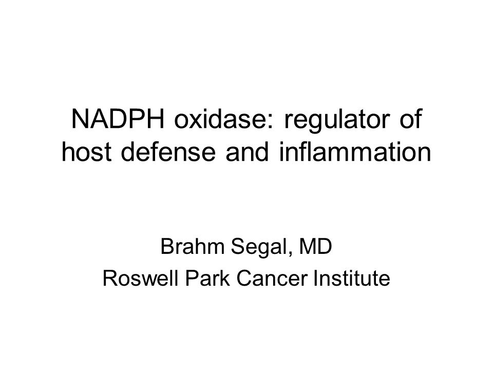 NADPH oxidase: regulator of host defense and inflammation