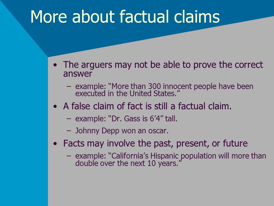 Identifying The Arguers Point Ppt Download