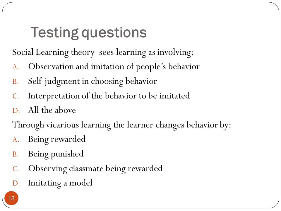 observational learning theory definition