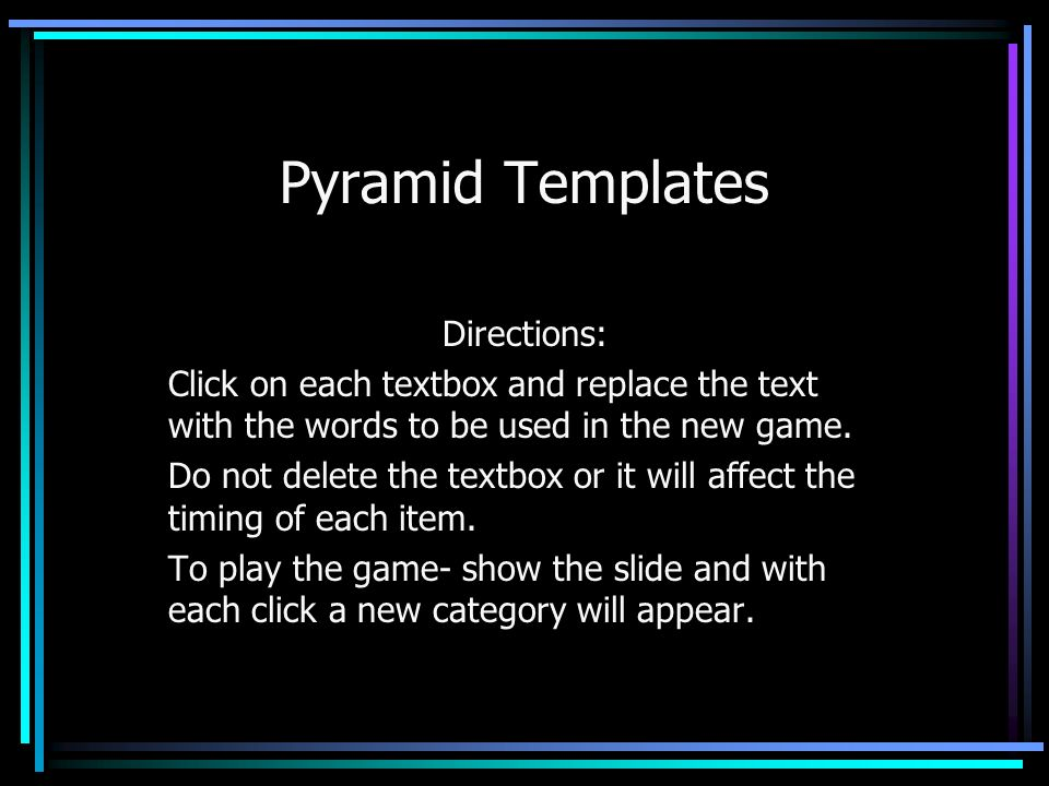 The $10,000 pyramid challenge template elearning brothers.