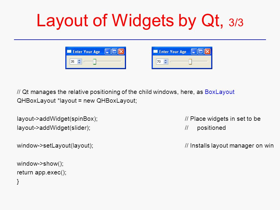 QT – Introduction C++ GUI Programming with Qt 4 - ppt download