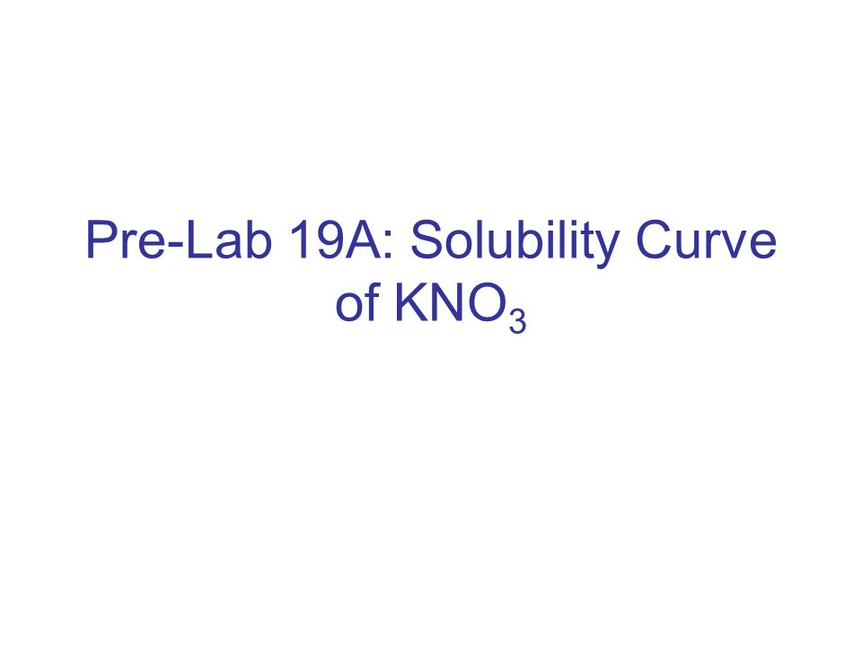 is kno3 soluble