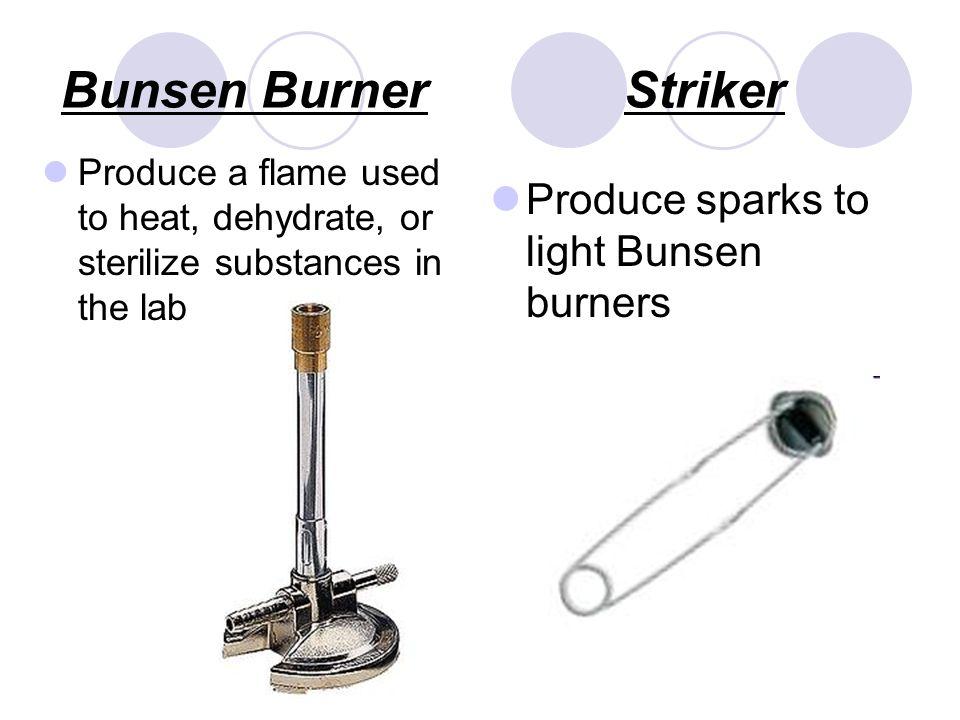 bunsen burner striker