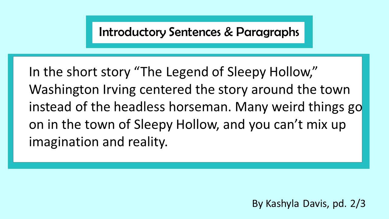 sleepy hollow analysis