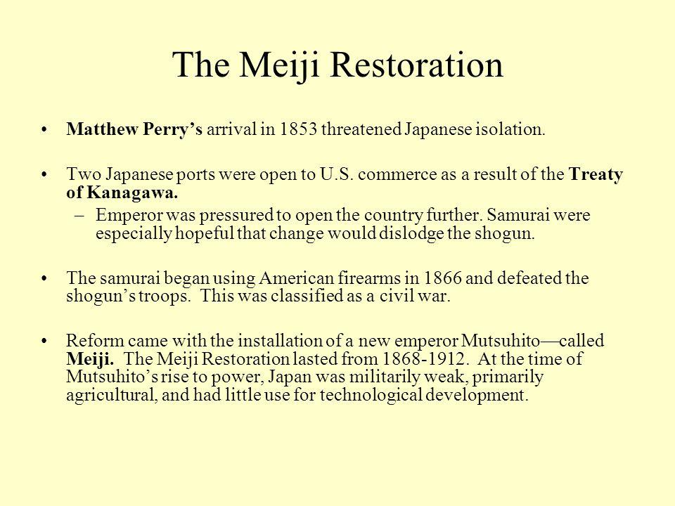 meiji restoration political changes