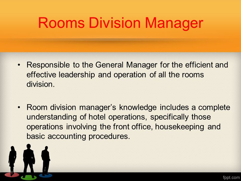 Rooms Division  - ppt video online download