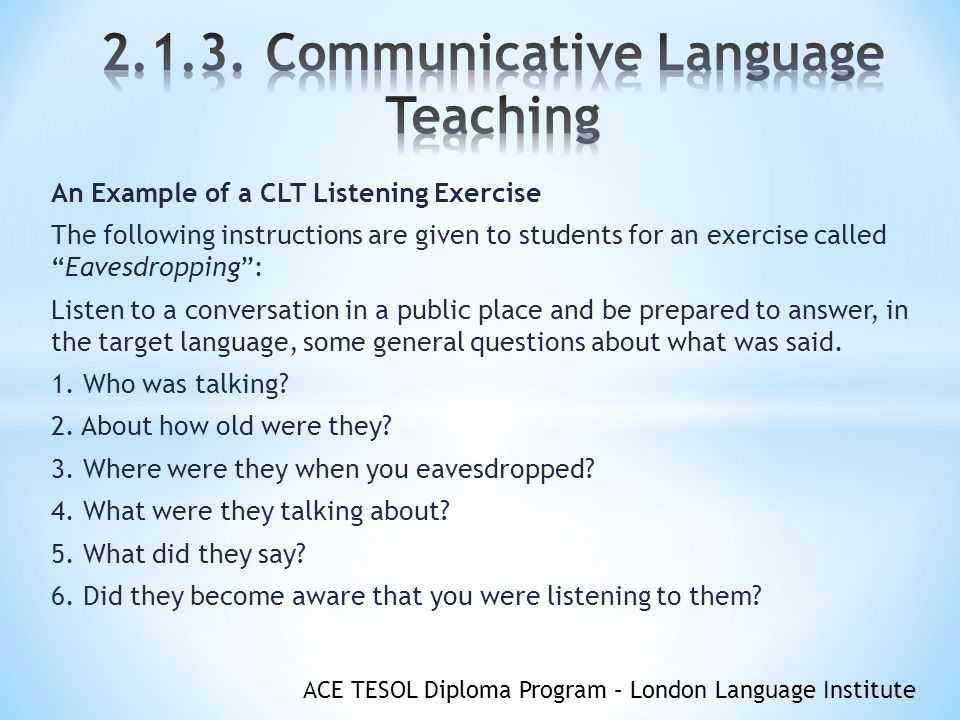 English language example lesson plans india 2013.