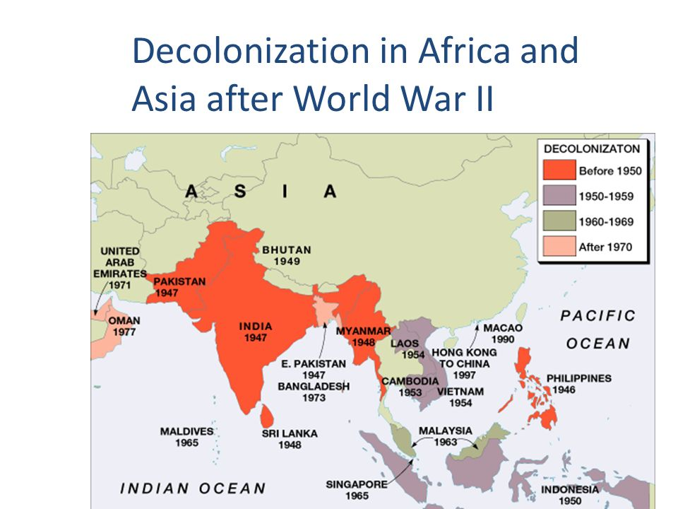 The road towards independence ppt video online download 2 decolonization in africa and asia after world war ii gumiabroncs Images