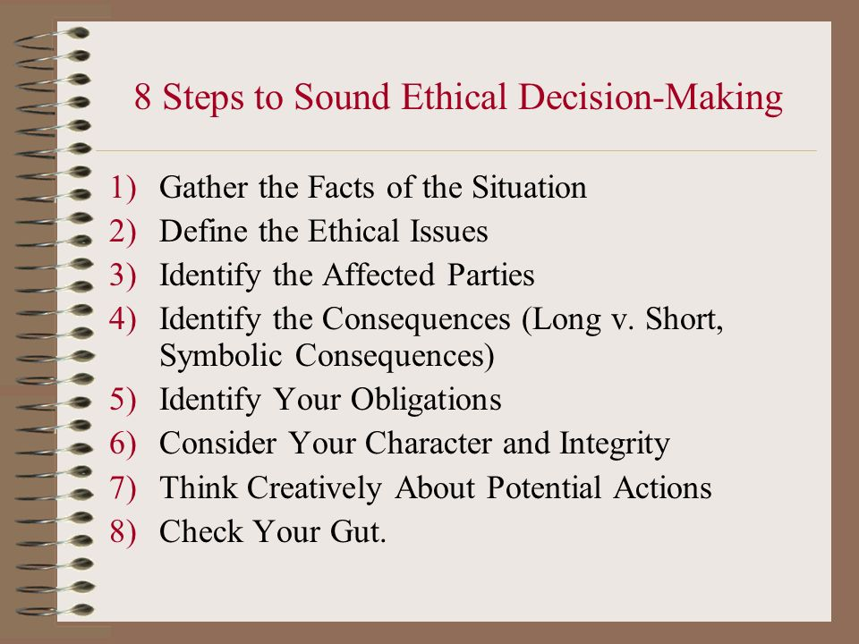 ethics awareness inventory character and obligation Moral and ethical issues in teacher education eric digest this eric digest will address two components related to the moral and ethical preparation of teachers.