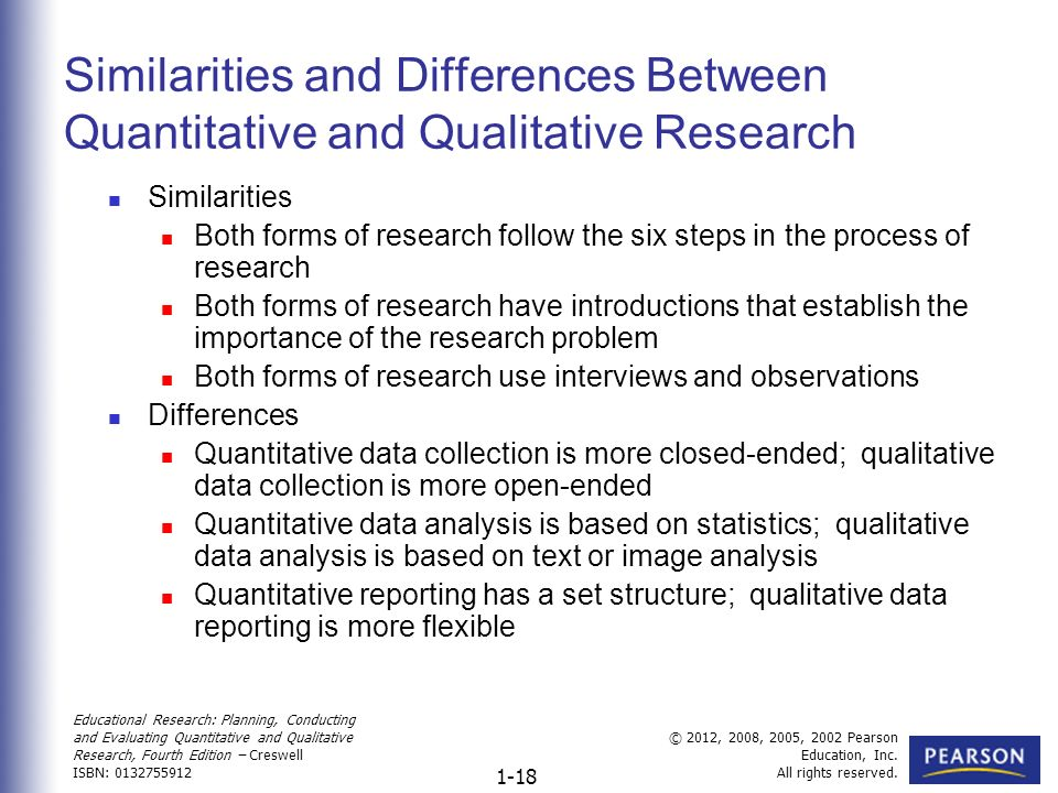 the process of conducting research using quantitative and qualitative approaches essay The process of designing a research project can then begin the selection of a research process is well thought out with many academics and both qualitative and quantitative researchers conduct their research using various approaches of inquiry whilst there are a number of approaches used.