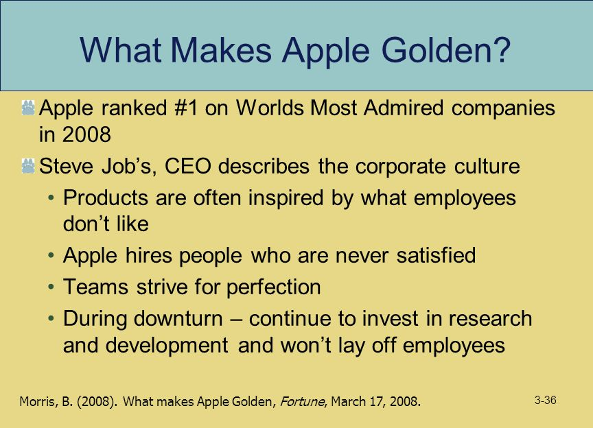 organisational culture of apple