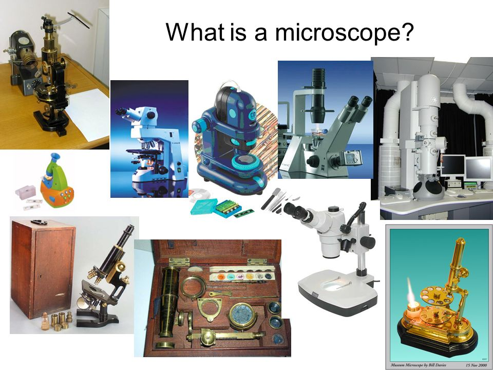 What is a microscope