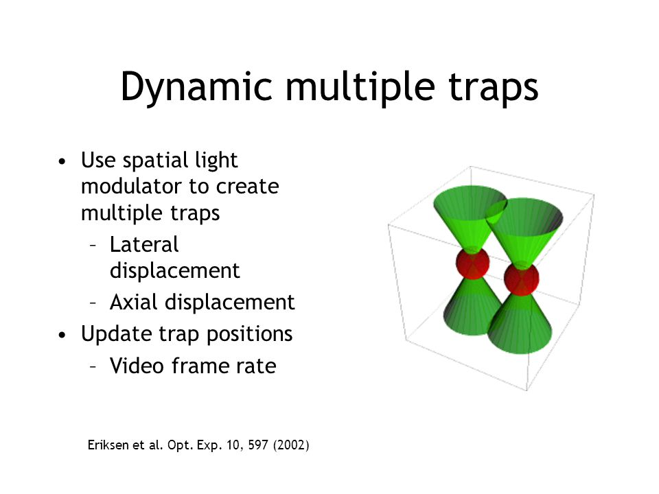 Dynamic multiple traps