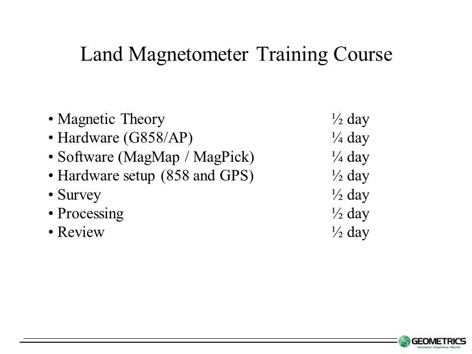 Land Magnetometer Training Course - ppt download