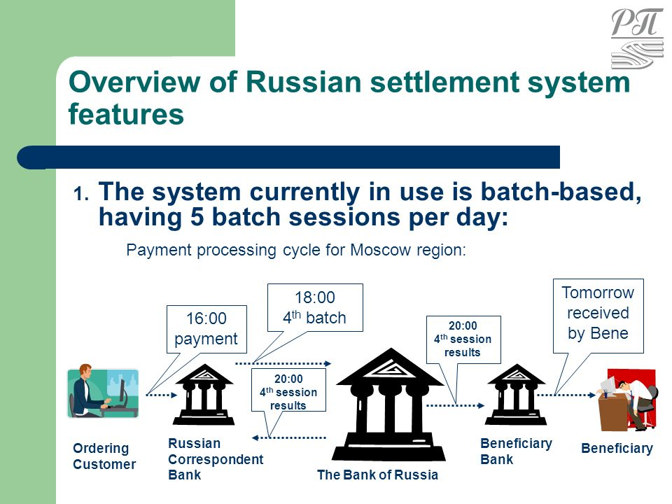 Payments in Russia: the background for revisal - ppt video