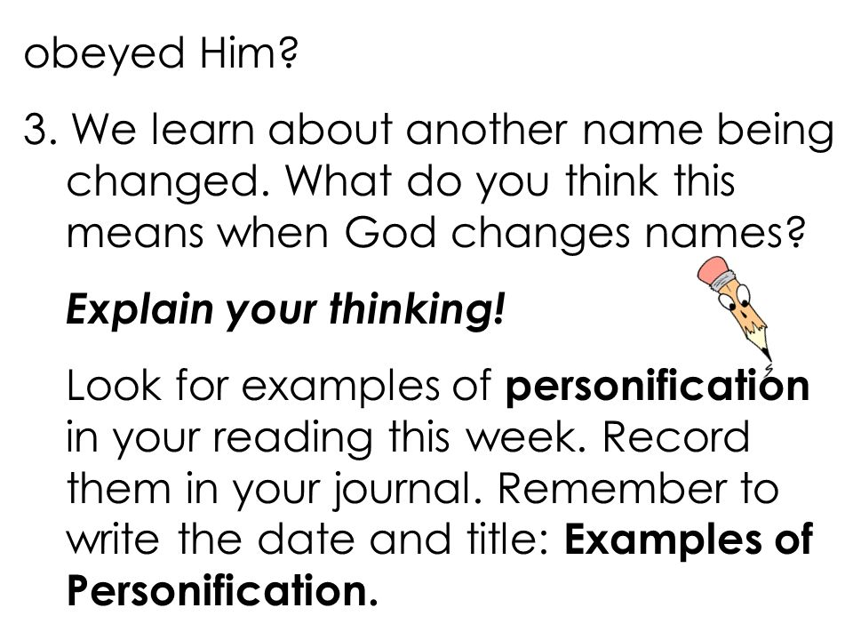 Personification Figurative Language In Lesson 35 You Will Ppt