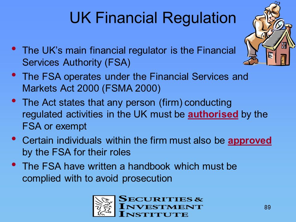 UK Financial Regulation