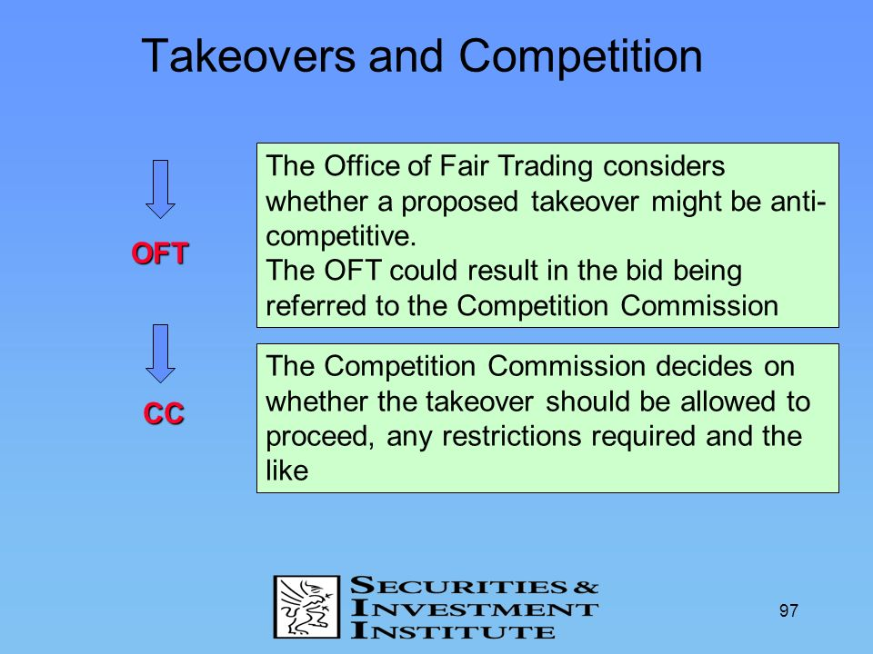 Takeovers and Competition