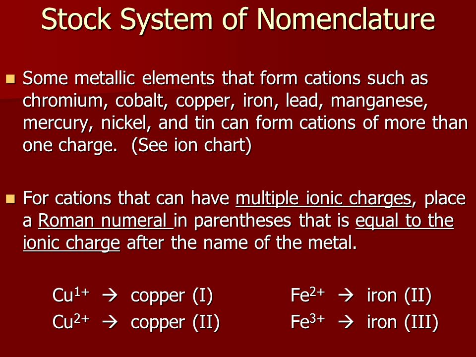 Modern Chemistry Chapter 7 Chemical Formulas Chemical Compounds