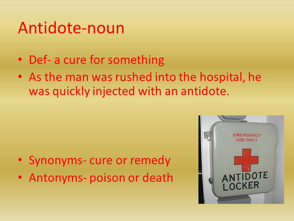 Yet another vocab powerpoint set6 ppt download 18 antidote noun m4hsunfo