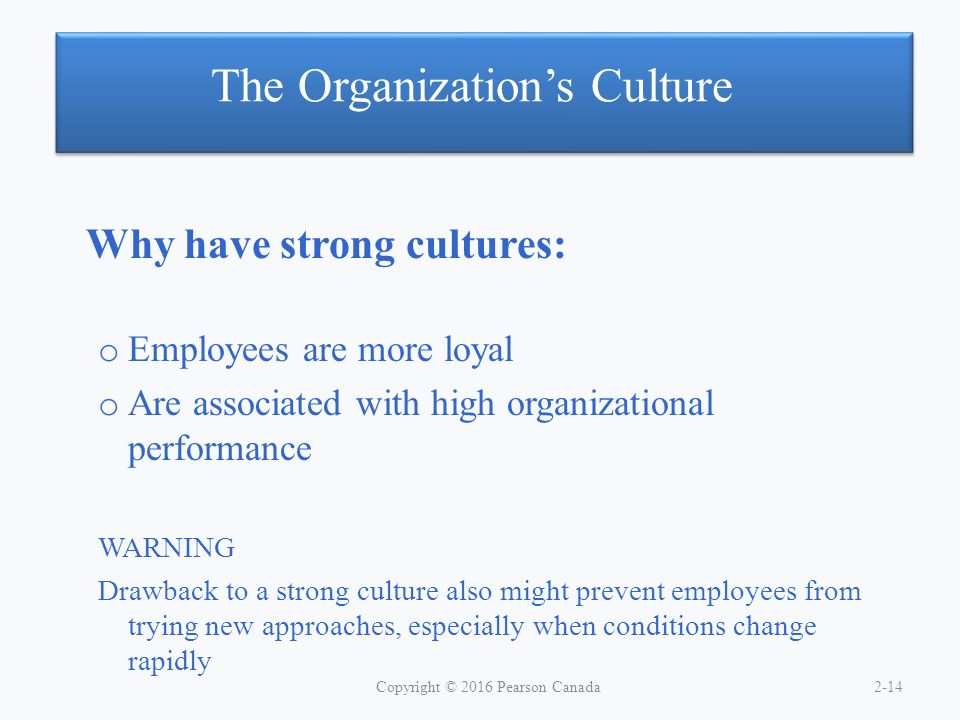 organizational culture and employee performance