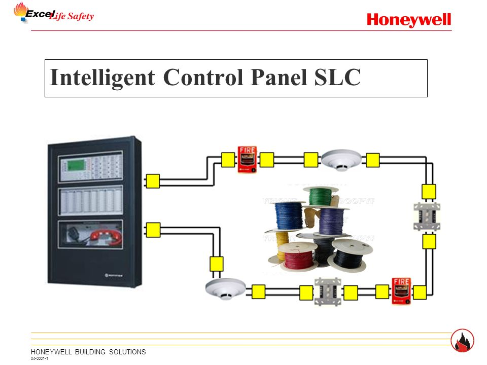 Notifier Honeywell Intelligent Control Panel Slc Wiring