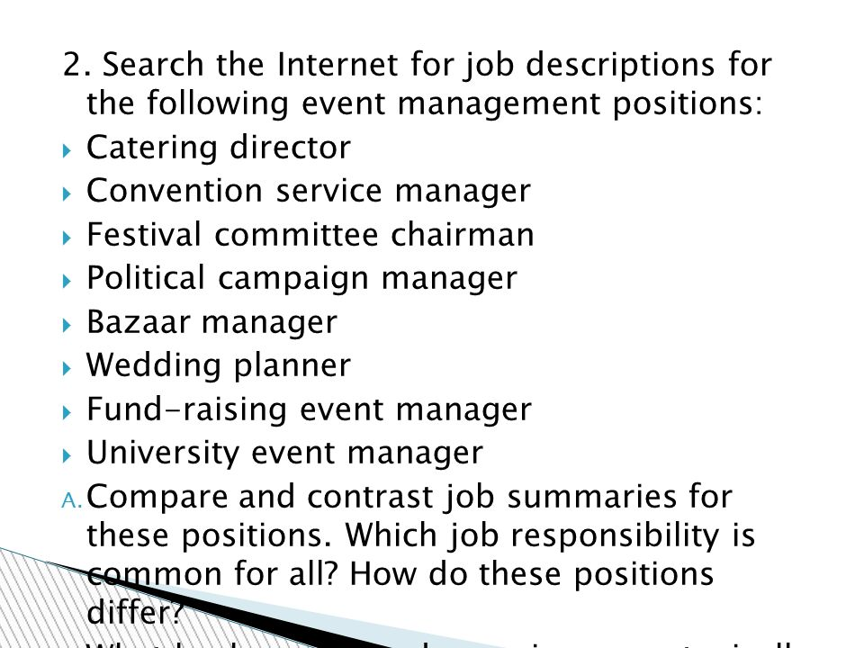 service director job description