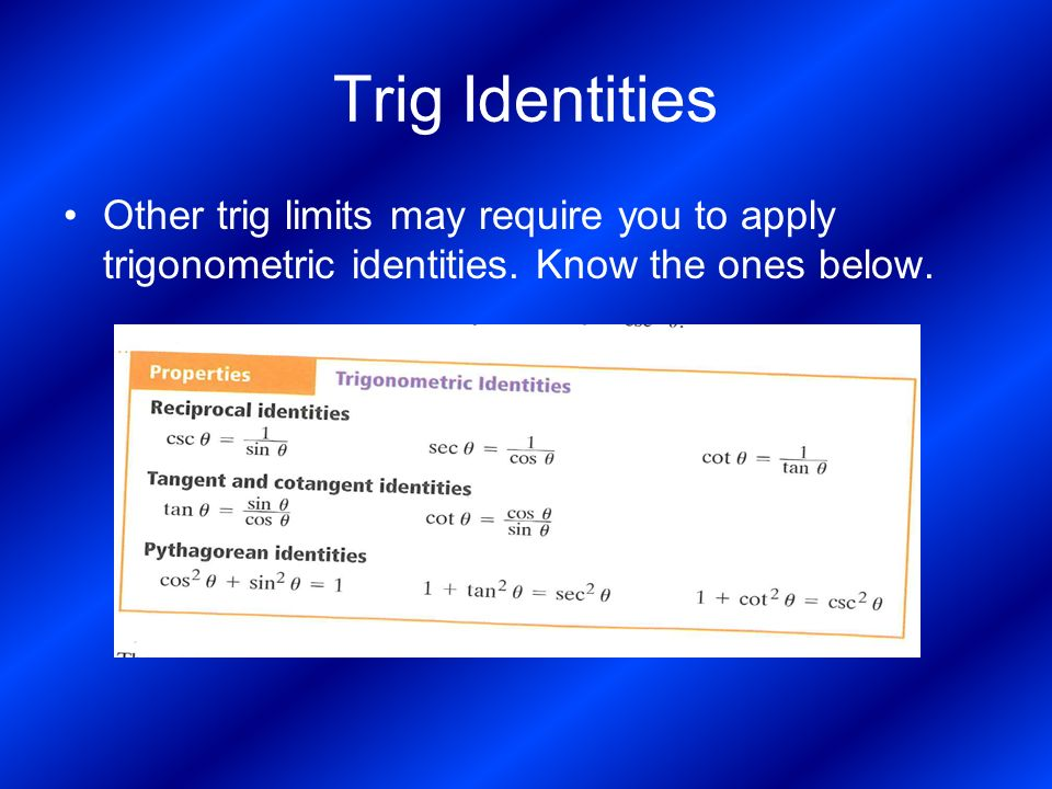 Limits Of Radical And Trig Functions Ppt Video Online Download