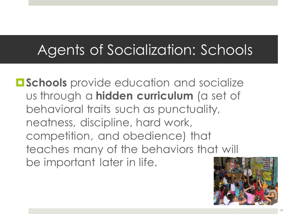 agents of socialization definition sociology