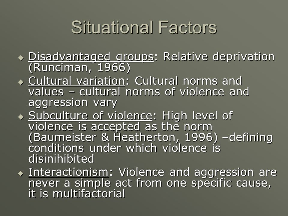 subculture of violence definition