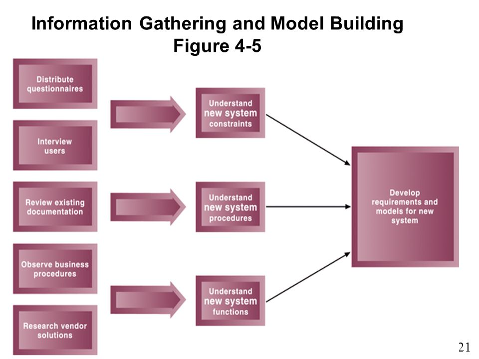 Information Gathering and Model Building